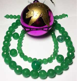 нефритовые бусы, колье, ожерелье